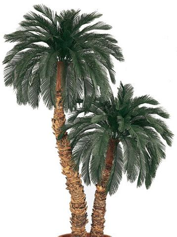 american made unlit 6ft or 7ft trees everlasting like outdoor artificial palm trees made to beautify your living quarters