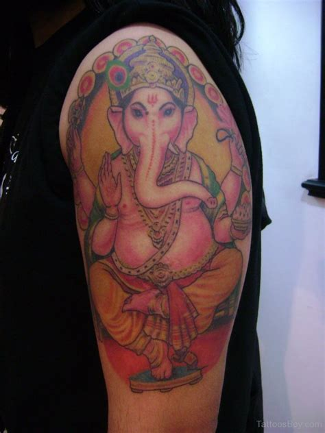 ganesha tattoo shoulder ganesha tattoos tattoo designs tattoo pictures page 27