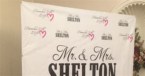 Wedding Step And Repeat Banner by Banners Wedding Step And Repeat Banner