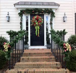 porch railing decorations for christmas trendy mods com