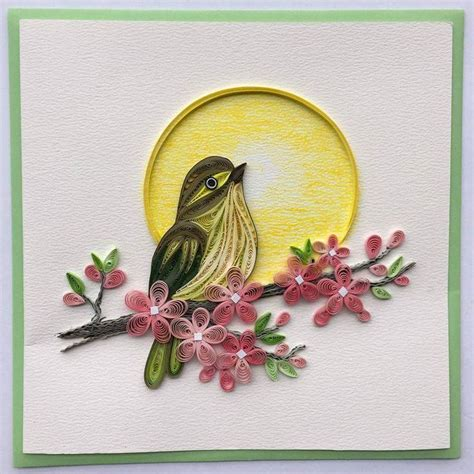 paper quilling birds tutorial 6545 best quilling wildlife animals creatures images on