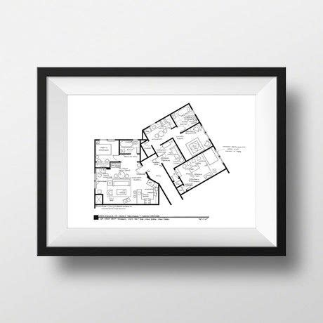 seinfeld apartment floor plan pin by bobby johns on architecture buildings pinterest