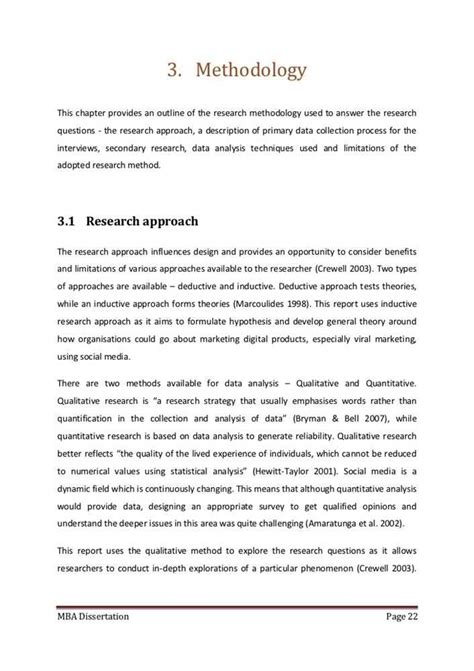 how to write methodology in research paper exle of research methodology in a thesis photo