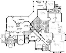Floor Plans For Large Homes Luxury House Plans