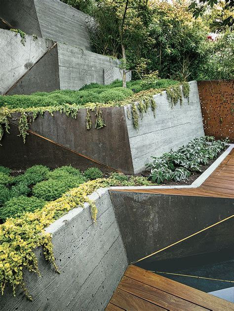 best 25 concrete retaining walls ideas on pinterest