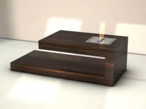 modern coffee table with built in fireplace coffee