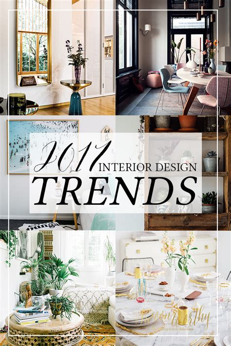 Decorating Trends For 2017 | 2017 interior design trends my predictions swoon worthy