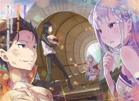 subaru and emilia re zero kara hajimeru isekai seikatsu natsuki subaru