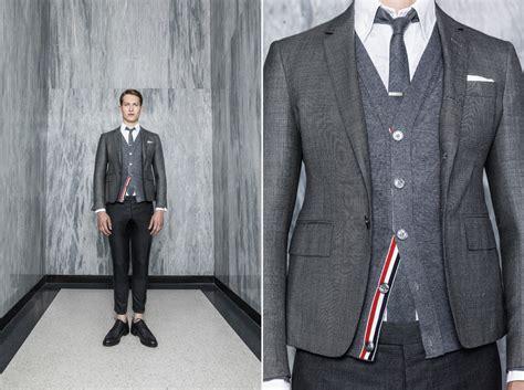 Thom Browne thom browne woolmark suits cool