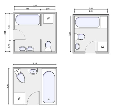 bathroom floor plans types of bathrooms and layouts