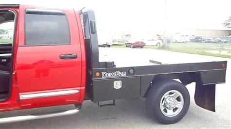 2004 Dodge Ram 2500 ST 4x4 Flat Bed Diesel