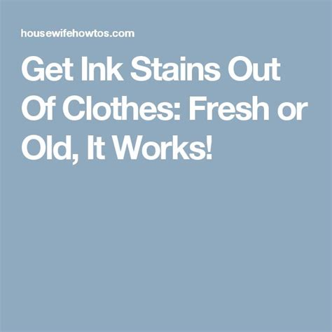 Ink Out Of by 710 Best I Housework Images On