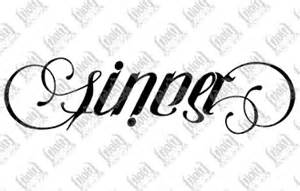 sinner saint ambigram art and beautiful pics pinterest