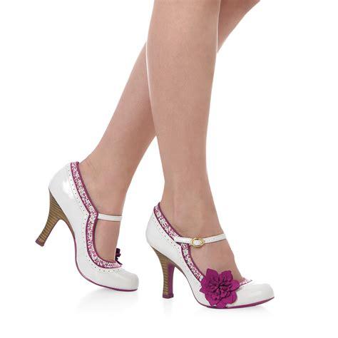 Kickers Poppy Sz 36 41 ruby shoo poppy shoes sz 3 9 blue pink mink beige