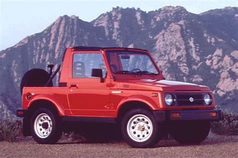 suzuki jeep 1990 1990 95 suzuki samurai consumer guide auto