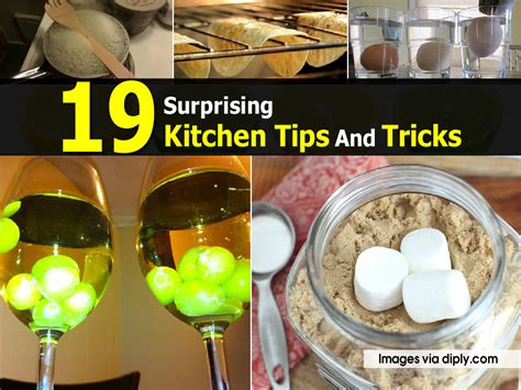 kitchen tips 19 surprising kitchen tips and tricks