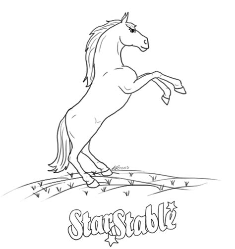 coloring pages of stable free coloring pages of picture of stable