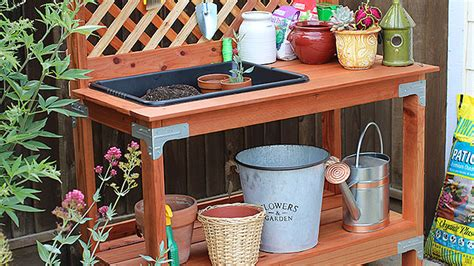 Kitchen Island With Wheels Outdoor Potting Bench Diy Done Right