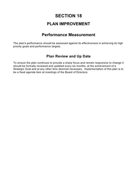 comprehensive business plan template 5 comprehensive strategic business plan template