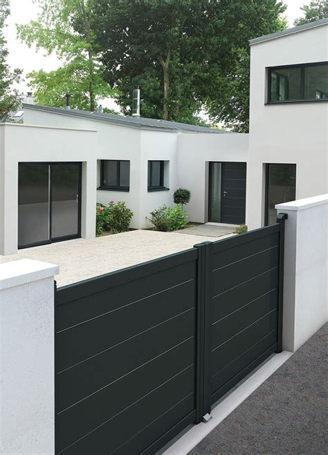 Portail De Maison Moderne by Les 25 Meilleures Id 233 Es De La Cat 233 Gorie Portail Maison Sur