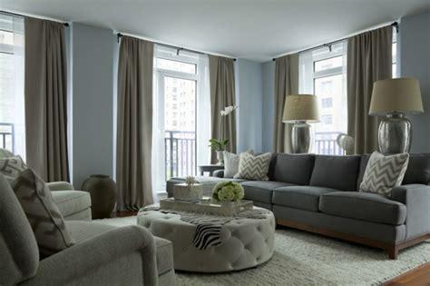 Wohnzimmer Hell Gestalten by Inneneinrichtung Ideen Trendfarbe Grau F 252 R Das Innendesign
