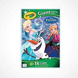 frozen coloring pages crayola crayola teaching supplies stationery trading