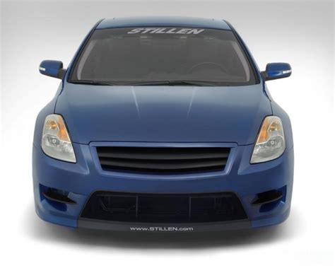 nissan altima coupe front bumper stillen front bumper fascia including top grille nissan