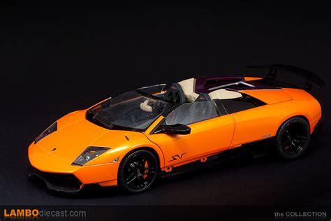 Lamborghini Murcielago Sv Roadster the 1 18 lamborghini murcielago lp670 4 sv roadster from
