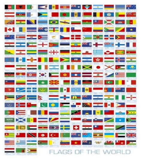 flags of the world from a to z sa maps and flags