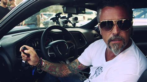 richard rawlings and his 2015 dodge challenger gumball