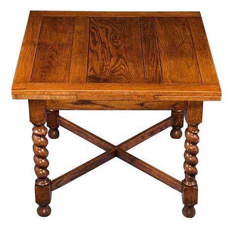 barley twist table legs for sale english oak antique barley twist draw leaf pub table
