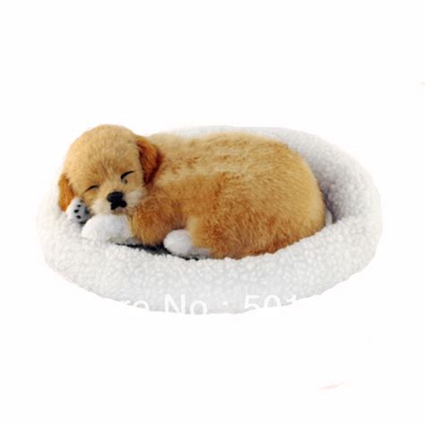puppy that looks real free shipping home decoration unique gift sleeping looks real breathing