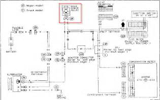 1994 nissan system wiring diagram free pdf manual