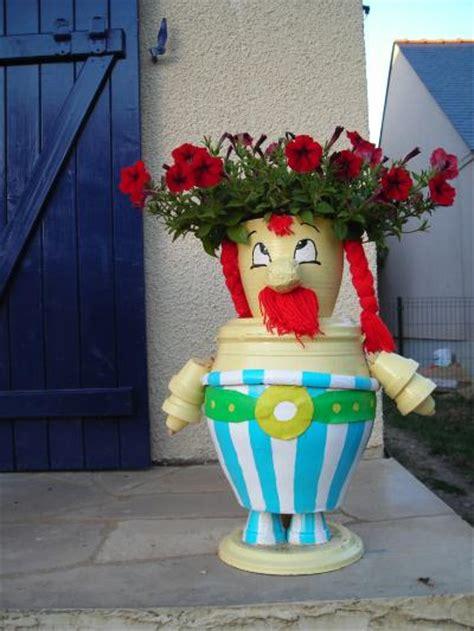 pot de fleur exterieur 1250 personnage ob 233 lix en pot de terre cr 233 ation personnage en