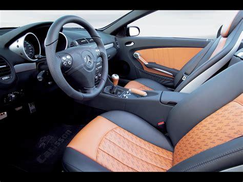 Per By H R Untuk Mercedes W171 Slk Type R171 Slk 200 2005 carlsson mercedes slk r171 interior 1024x768