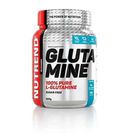 supplement glutamine glutamine nutrend supplements