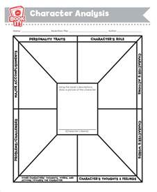 character analysis template character analysis 8 exles in word pdf