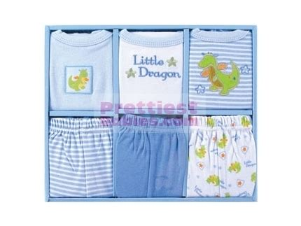 Murah Luvable Friends 6 Pc Grow With Me Set grow with me set 6pc blue baby clothes baby products