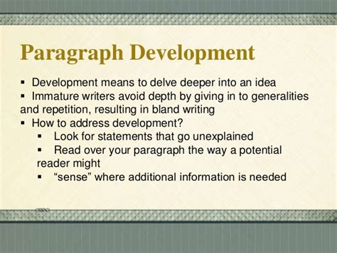 definition pattern of paragraph development iacg multimedia best free home design idea inspiration