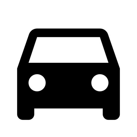Auto Symbol by File Ic Directions Car 48px Svg Wikimedia Commons