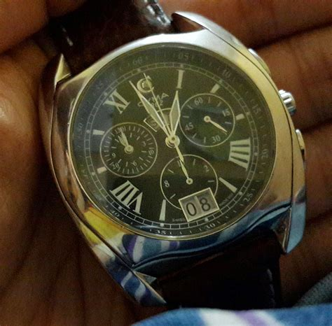 Jam Tangan Cyma Quartz just ordinary sold cyma quartz day date chronograph