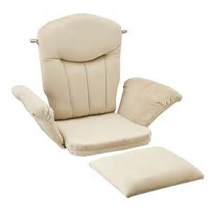 Shermag Glider And Ottoman Replacement Cushions Shermag Glider Rocker Cushion Set Target