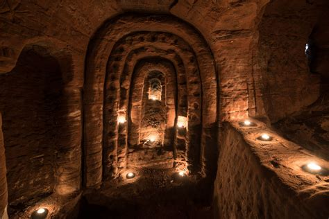 700 year old cave rabbit hole leads to incredible 700 year old knights