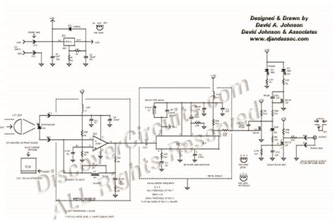 laser light detector circuit circuit 40khz laser burst detector circuit designed by