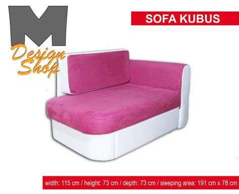 girls sofa sofa bed kubus pink for girls for kids ebay
