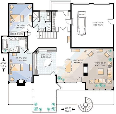 multi generational house plan 21920dr 1st floor master five bedroom mountain house plan 21180dr 1st floor