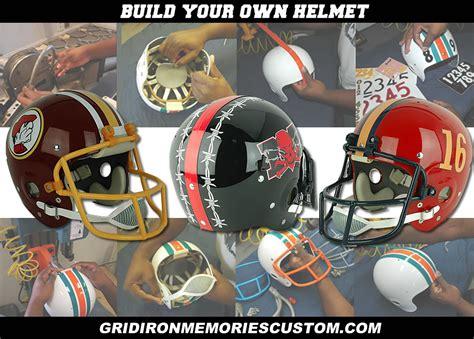 design your own helmet games gridironmemories