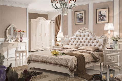 Vintage Inspired Bedroom Furniture Antique Style Furniture Bedroom Sets Py 7627 In Beds From Furniture On Aliexpress