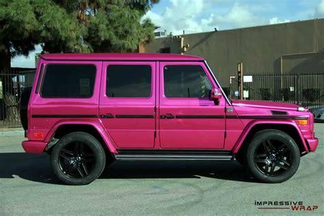 pink mercedes truck pink mercedes g class 3 benzinsider com a mercedes