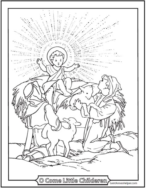 precious and the shepherd coloring book books jesus coloring page with shepherds